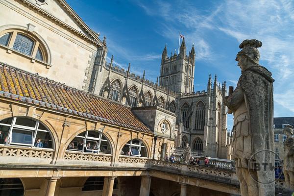 Roman Bath in Bath UK