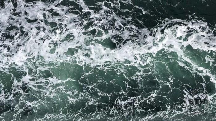 Water in Irish Sea from Ferry