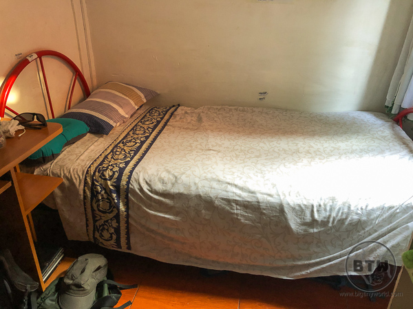 Bed in Santiago