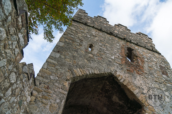 Monkstown Castle ruins in Dun Laoghaire, Ireland | BIG tiny World Travel