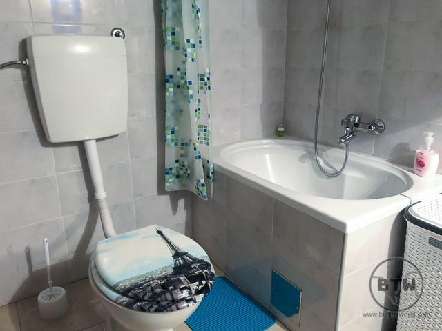 Small bathtub found in Europe