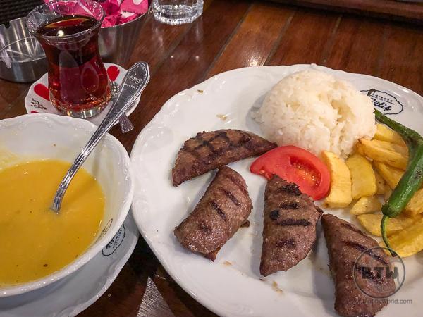 Kofte - Turkish meatballs