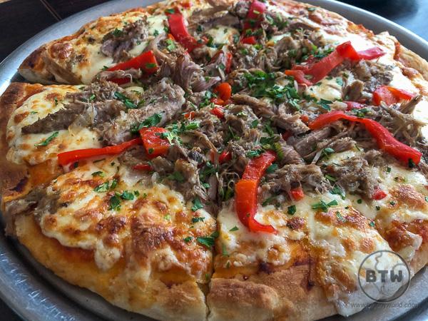 Fugazzeta - Argentinian pizza