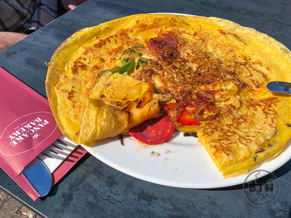 Pannekoek - Dutch pancakes