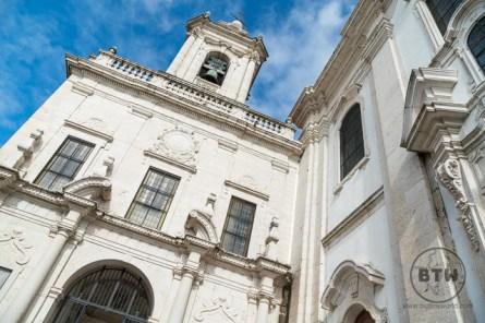 A church in Lisbon, Portugal