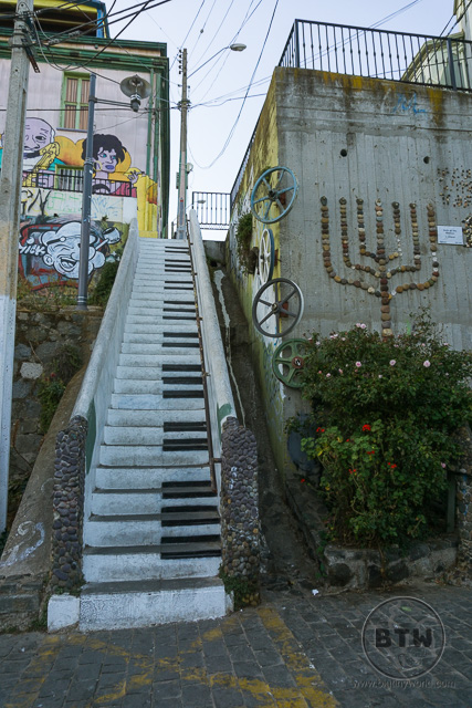 Piano Staircase Artwork