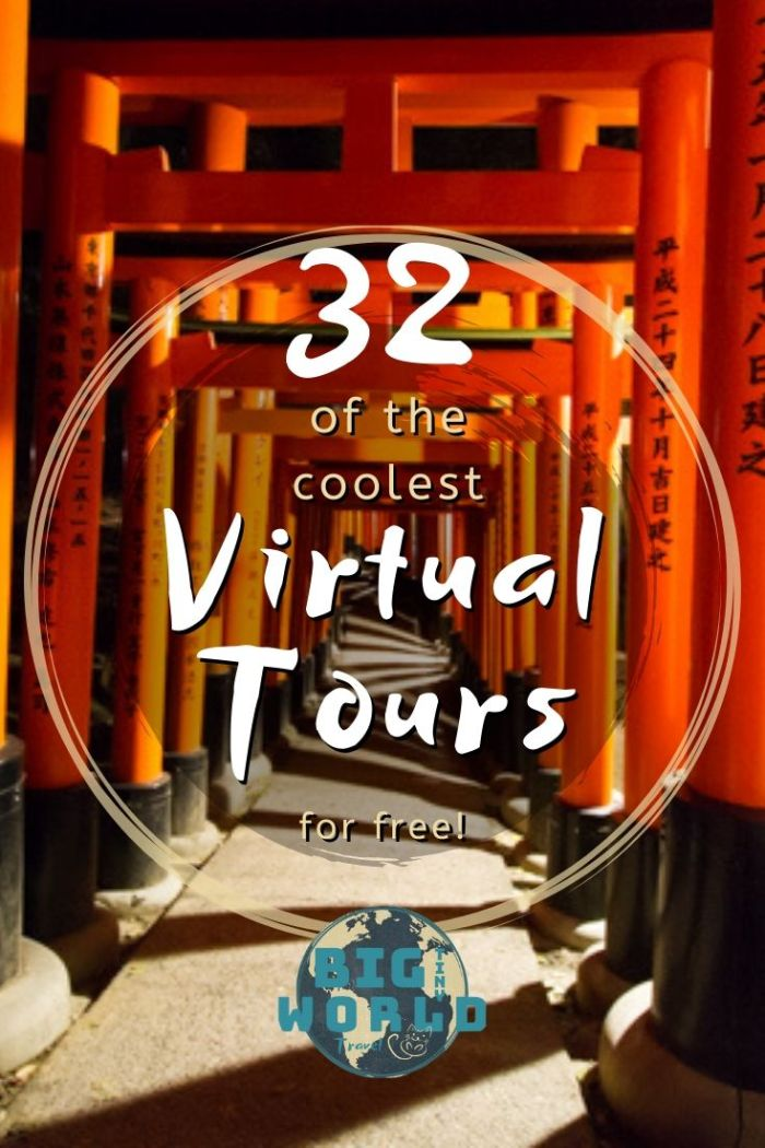 32 of the Coolest Virtual Tours | Looking for ways to sate your wanderlust? Check out these actually awesome digital tours from all around the globe. Go on safari, discover Japan, or climb Everest - all from your living room! | BIG tiny World Travel | #bigtinyworld #virtualtravel #stayhome #digitaltours