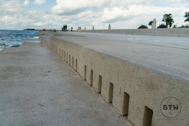 The Sea Organ in Zadar, Croatia