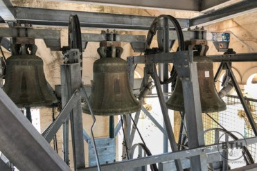 The bells of the St. Domnius Bell Tower in Split, Croatia