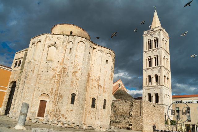 Church of St. Donatus in Zadar, Croatia
