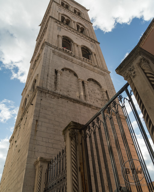 The Bell Tower in Zadar, Croatia