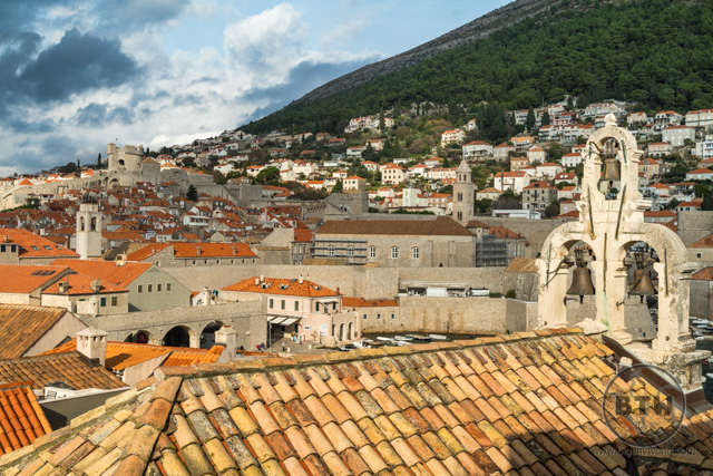 The rooftops of Dubrovnik, Croatia