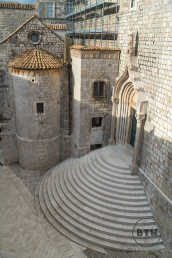 A Game of Thrones filming location in Dubrovnik, Croatia
