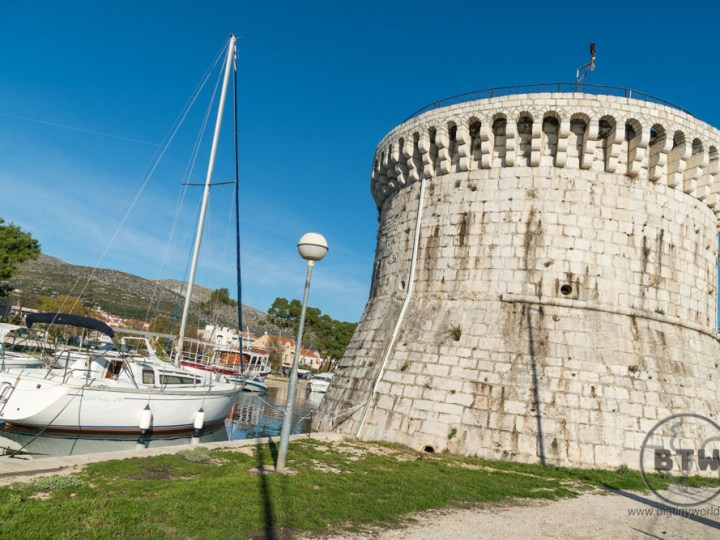 A tower in Trogir, Croatia