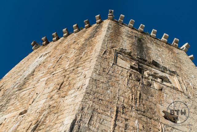 The castle in Trogir, Croatia