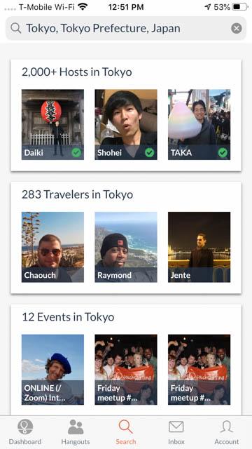 Couchsurfing - Best Apps