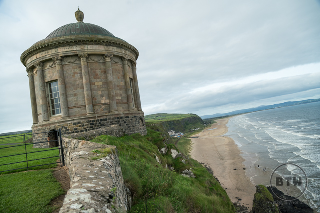 The temple at the Downhill Demesne in Northern Ireland