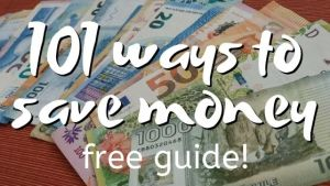 101 Ways to Save Money Sidebar Image