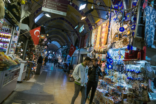 Grand bazaar Istanbul Shops