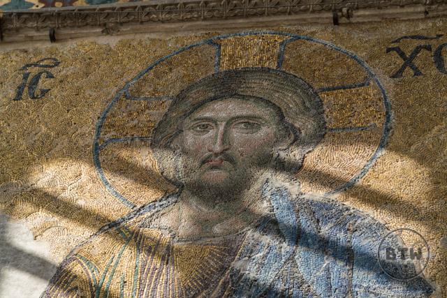 Jesus in Hagia Sophia Istanbul