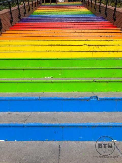 Karakoy Rainbow Stairs