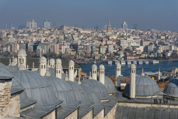 Istanbul from Suleymaniye mosque