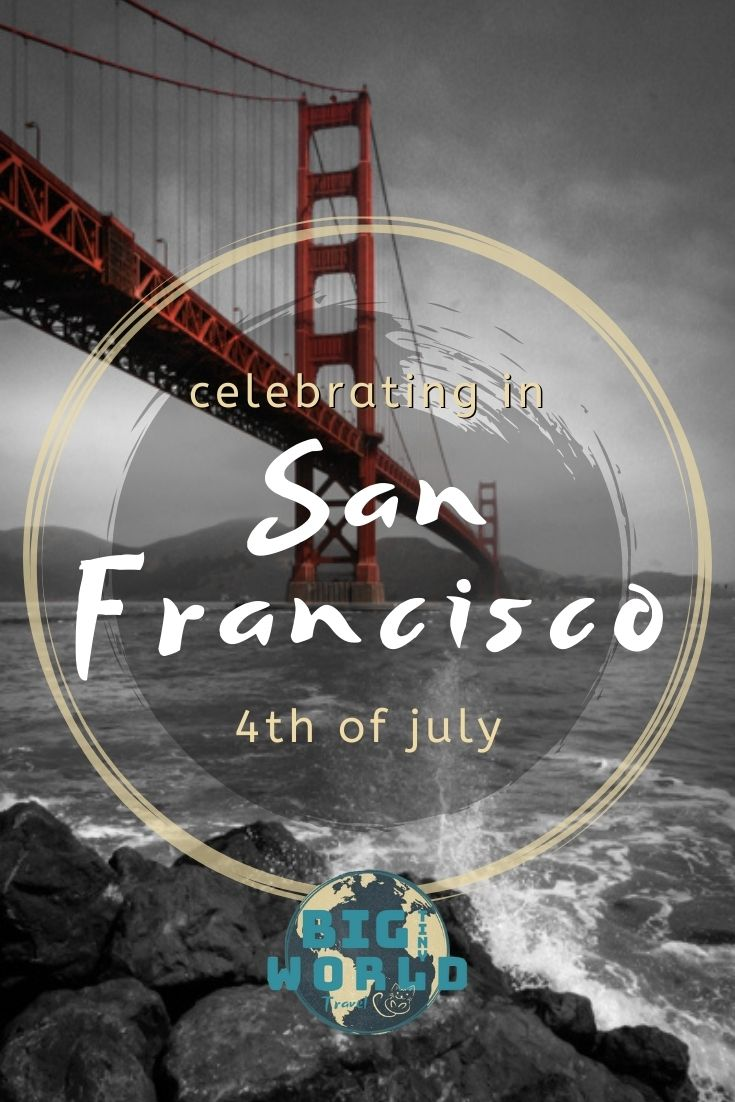 Bikes and ferries and cruises, oh my! See how to best celebrate the 4th of July on the San Francisco Bay! | #bigtinyworld #4thofjuly #holiday #travel