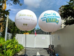 Advertisement Balloon Signage Singapore