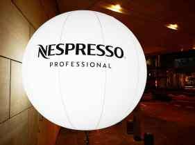 Advertising Balloon for Nespresso