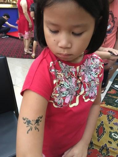 Airbrush Tattoo for children Singapore