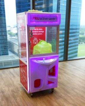 Arcade Claw Machine Rental 1