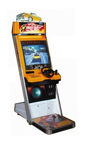 Arcade Crazy taxi Machine Rental