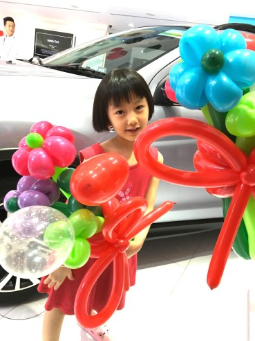 Balloon Flowers Sculpting Singapore