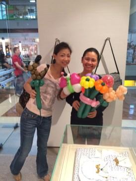 Balloon Sculpting at Shopping Mall copy