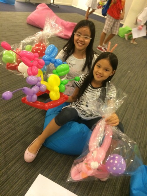 Balloon Sculpting for birthday party
