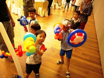 Balloon Sculpting in Singapore 2