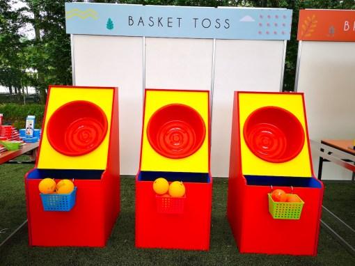 Basket Toss Fun Fair Game Rental