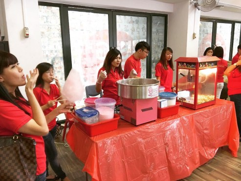 Candy Floss and Popcorn Booth