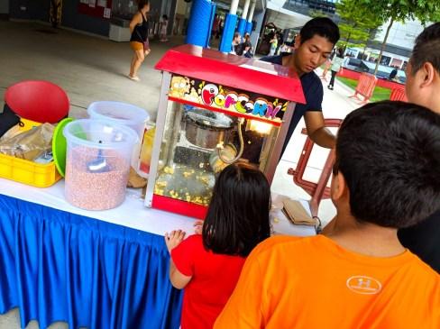 Carnival Popcorn machine Rental