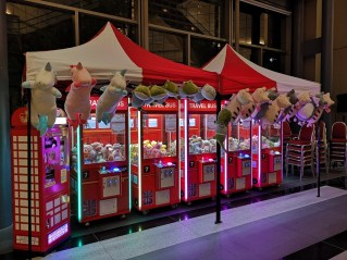 Claw Machines for Event Singapore