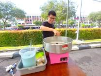 Cotton Candy Machine Rental Singapore