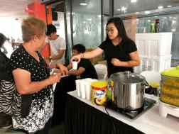 Cup Corns Live Station for Event
