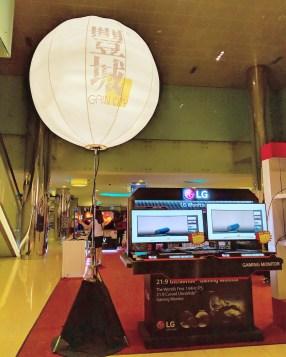 Giant Advertising Balloon Display