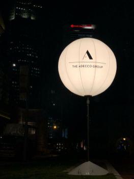 Giant Lighted Tripod Balloon Rental