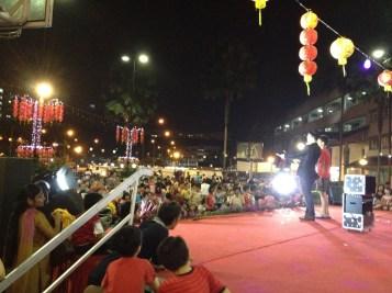 Magician Lunar Festival in Singapore