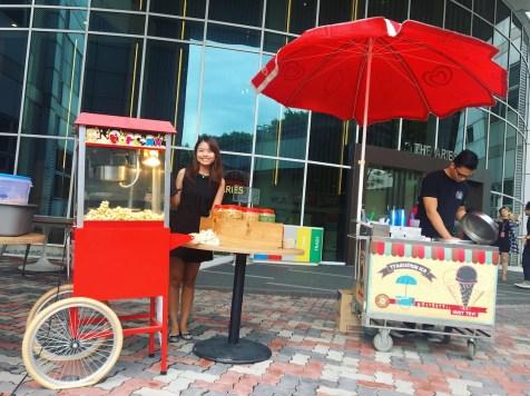 Popcorn and Ice Cream Cart Rental