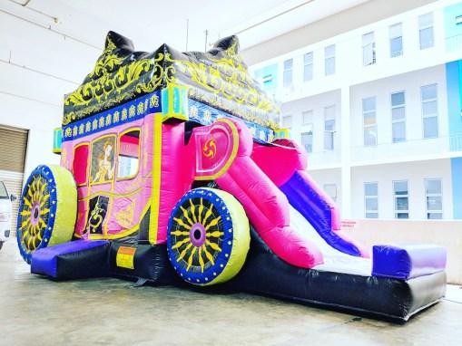 Princess Carriage Bouncy Castle rental