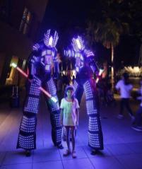 Robot Stilt Walker Singapore