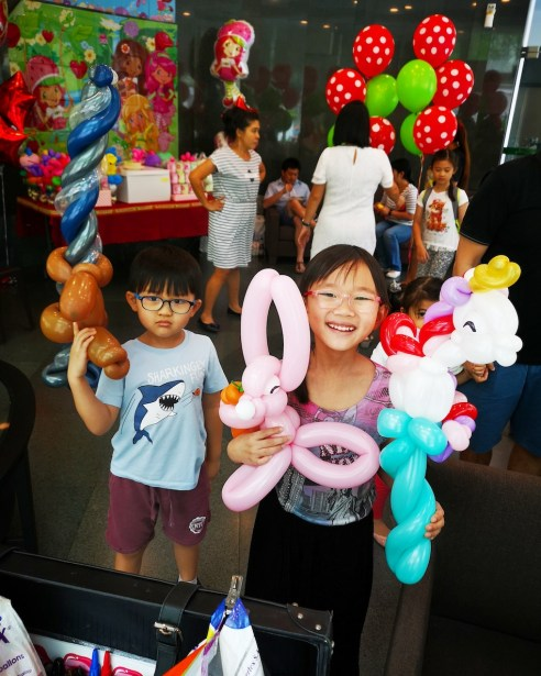 Singapore Balloon Sculpting for Birthday Party