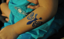Singapore Glitter Tattoo Service